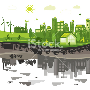 stock-illustration-18920325-green-vs-polluted-city